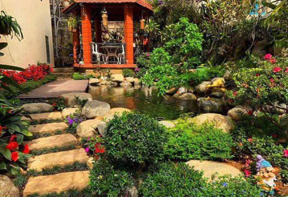 Thiết kế thi công tiểu cảnh sân vườn tại Vĩnh Phúc