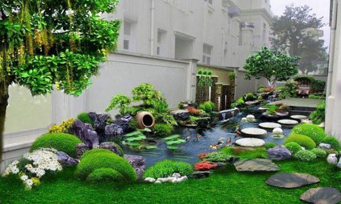 Tiểu cảnh sân vườn tại Vĩnh Phúc là gì