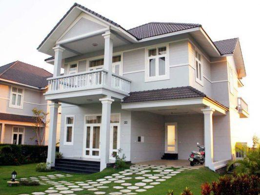 Thiết kế mẫu biệt thự 2 tầng Mini tại Vĩnh Phúc