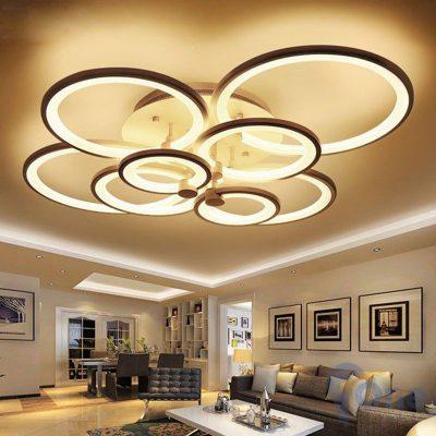 Đèn chùm hiện đại cho phòng khách