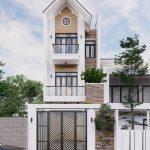 Nhà 3 tầng mái Thái phong cách hiện đại sang trọng Tại Vĩnh Phúc