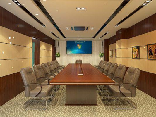 Nội thất phòng họp hiện đại tầm trung