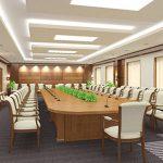 Thiết kế thi công phòng họp tại Vĩnh Phúc