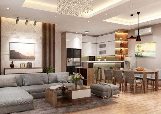 Phòng khách nội thất cao cấp