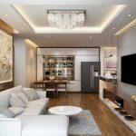 Thiết kế nội thất chung cư hai phòng ngủ