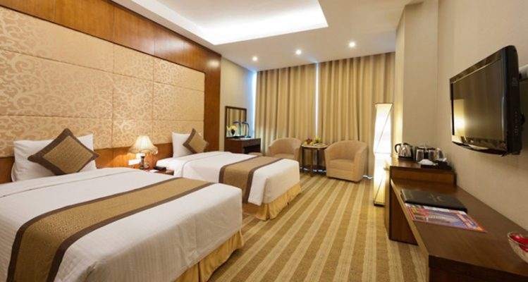 Nội thất phòng nghỉ đôi khách sạn