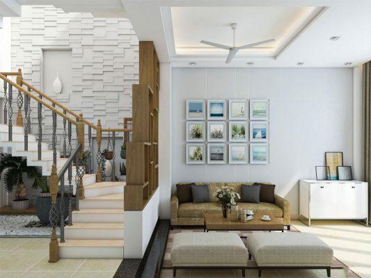 Thiết kế thi công nội thất nhà phố đẹp đơn giản