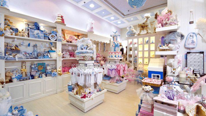 Thiết kế thi công nội thất shop thời trang trẻ em