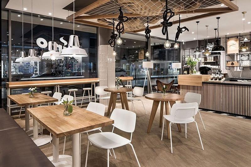 Nôị thất quán cafe