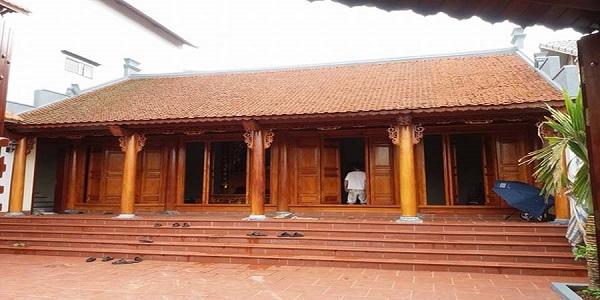 Thiết kế nhà gỗ tại Vĩnh Phúc