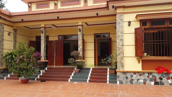 Thiết kế nhà vườn chữ U tại Vĩnh Phúc