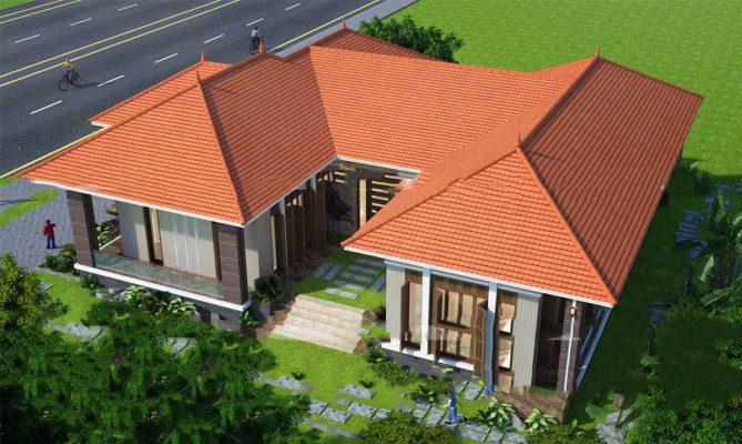 Công ty thiết kế nhà vườn chữ U tại Vĩnh Phúc