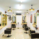 Thiết kế thi công nội thất salon tóc tại Vĩnh Phúc