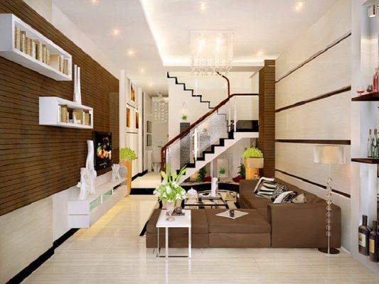 Thiết kế thi công nội thất nhà phố đẹp