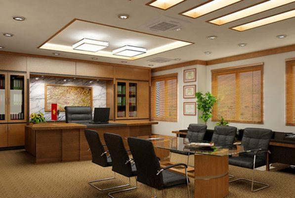 Phong thủy trong Thiết kế nội thất phòng giám đốc đẹp