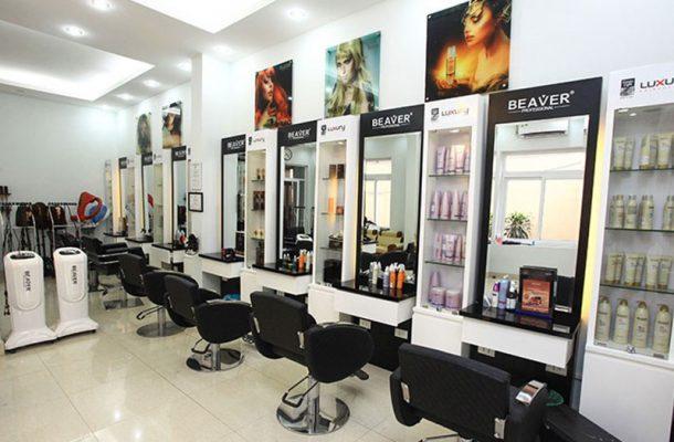 Salon tóc đẹp tại Vĩnh Phúc