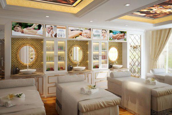 Thiết kế thi công nội thất spa mini ấn tượng