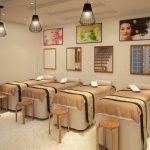 Thiết kế thi công nội thất spa mini tại Vĩnh Phúc