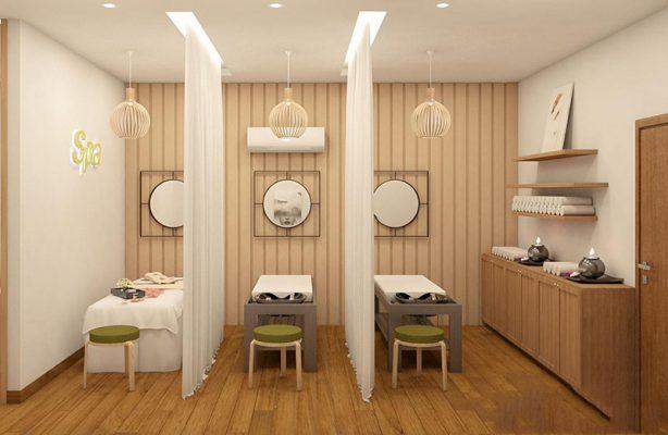 Thiết kế thi công nội thất spa mini