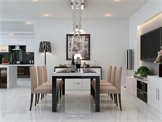 Thiết kế thi công nội thất phòng ăn đẹp tại Vĩnh Phúc