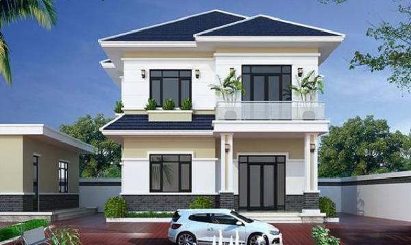 Cập nhật mẫu nhà 2 tầng 8x10m đẹp nhất tại Vĩnh Phúc