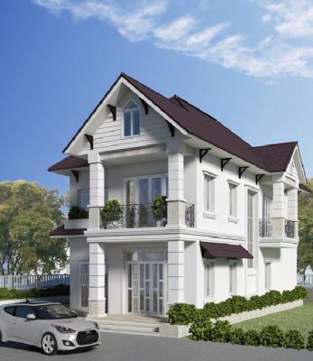 Các mẫu nhà 2 tầng được xây nhiều nhất tại Vĩnh Phúc