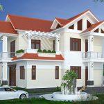 Thiết kế thi công nhà 2 tầng mái thái anh Tuấn Tam Dương Vĩnh Phúc