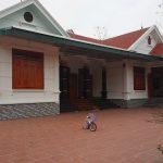 Thiết kế nhà vườn chữ U anh Quân Yên Lạc Vĩnh Phúc