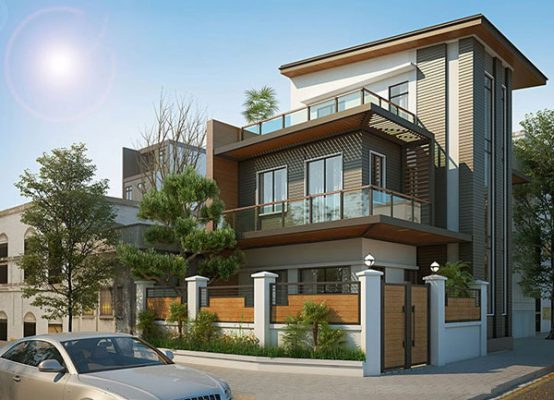Biệt thự đẹp 2 tầng và 1 tum anh Hà Tam Dương Vĩnh phúc