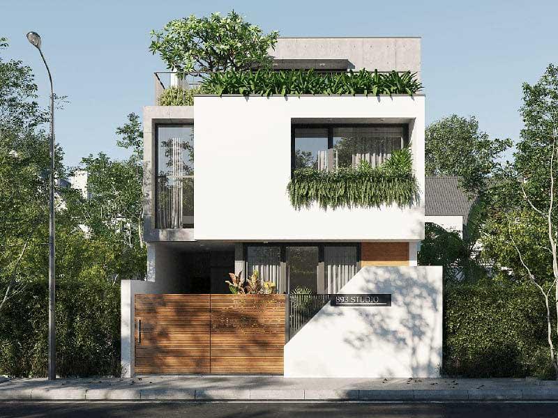 Những mẫu nhà 2 tầng giá 800 triệu đẹp