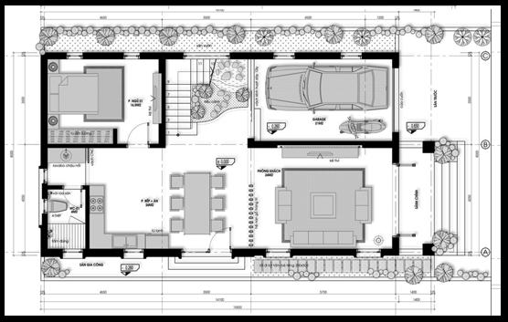 Các mẫu nhà 2 tầng kiến trúc tân cổ điển tại Vĩnh Phúc