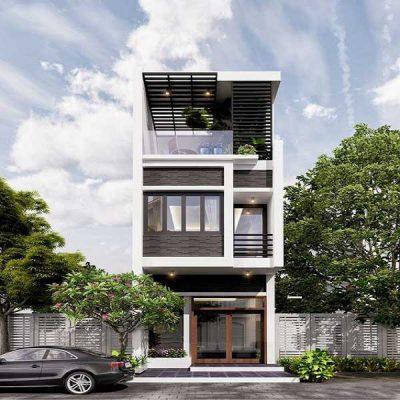 Thiết kế nhà 2 tầng 60m2 đang được yêu thích nhất hiện nay