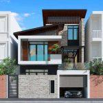 Mẫu thiết kế nhà 2 tầng 7×10 đẹp hút hồn