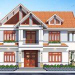 Nhà hai tầng mái thái mặt tiền 10m tại Vĩnh Phúc