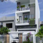 Thiết kế nhà phố 3 tầng hiện đại 6x18m tại Vĩnh Phúc