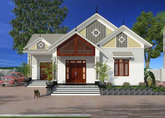 Mẫu nhà mái thái 3 phòng ngủ đẹp nhất tại Vĩnh Phúc