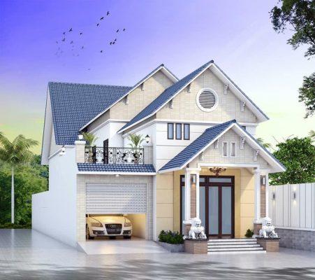 Mẫu nhà mái thái có gác lửng đẹp nhất tại Vĩnh Phúc