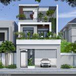 Thiết kế nhà phố hiện đại 7x19m tại Lập Thạch – Vĩnh Phúc