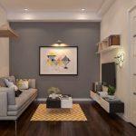 Thiết kế nội thất cho căn hộ 72m2 tinh tế tiện dụng