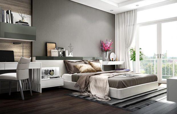 Thiết kế nội thất chung cư 72m2 cho phòng ngủ