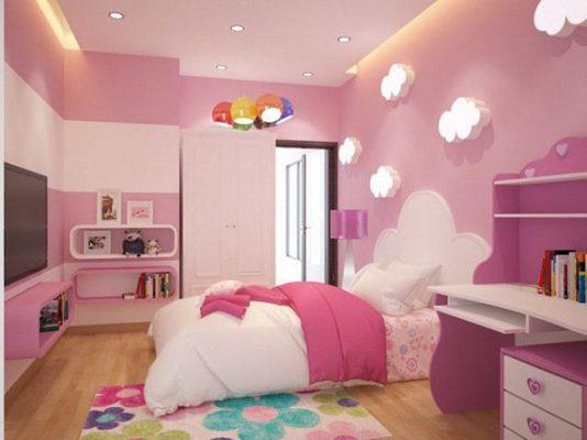 Nội thất phòng ngủ trẻ từ 3-10 tuổi