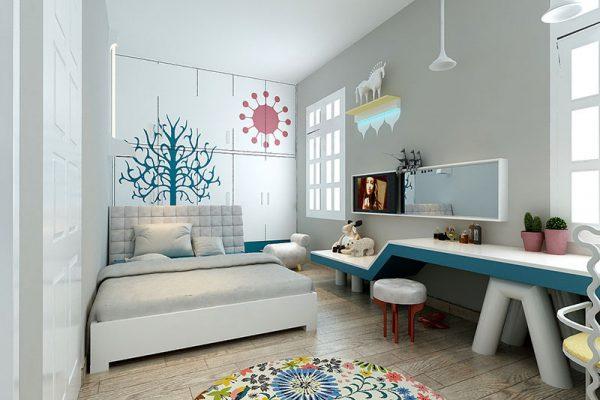 Phòng ngủ cho trẻ tuổi teen ấn tượng