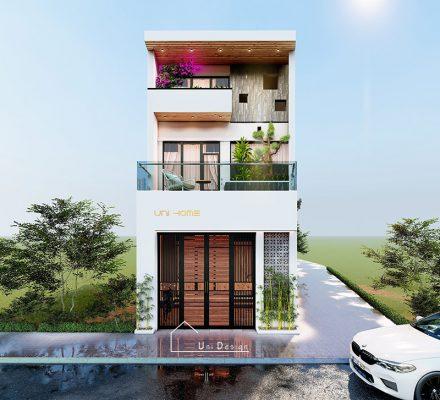 Nhà phố 2 tầng hiện đại anh Thịnh Vĩnh Tường Vĩnh Phúc