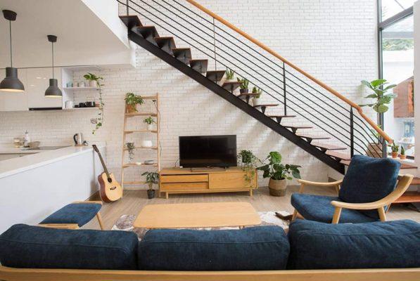 Không gian sống lý tưởng với 750 triệu- phòng khách