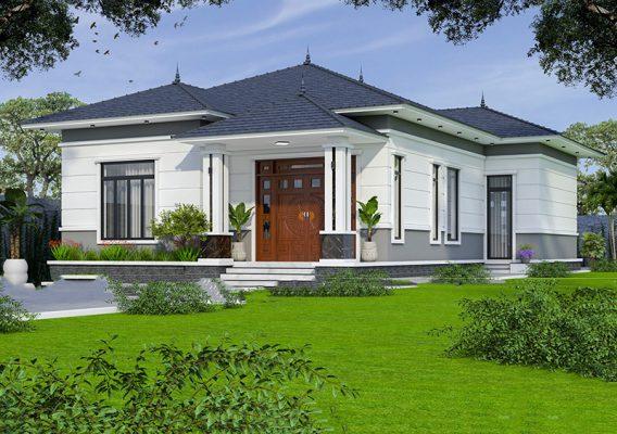 Thiết kế nhà vườn 840 triệu tại Bình Xuyên- Vĩnh Phúc