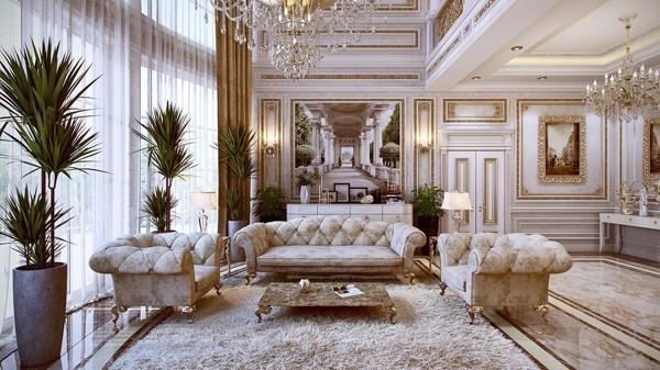 Thiết kế nội thất cổ điển anh Trung Vĩnh Tường Vĩnh Phúc