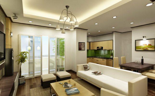 Công ty thiết kế thi công nội thất trung cư tại Vĩnh phúc