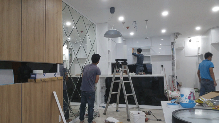 Thiết kế thi công nội thất trung cư Vinaconex Vĩnh Yên Vĩnh Phúc