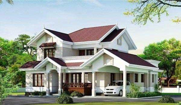 Những mẫu nhà 2 tầng mái ngói đẹp nhất tại Vĩnh Phúc
