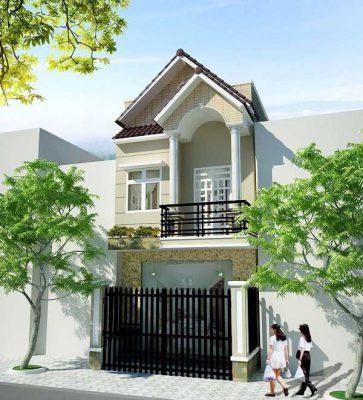 Top mẫu nhà 2 tầng mái ngói mới nhất tại Vĩnh Phúc